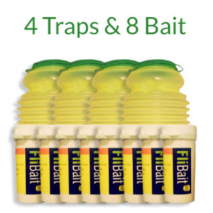 FliTrap – Economy Pack of Fly Traps