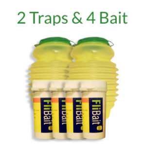 Flitrap Value Pack of Fly Traps